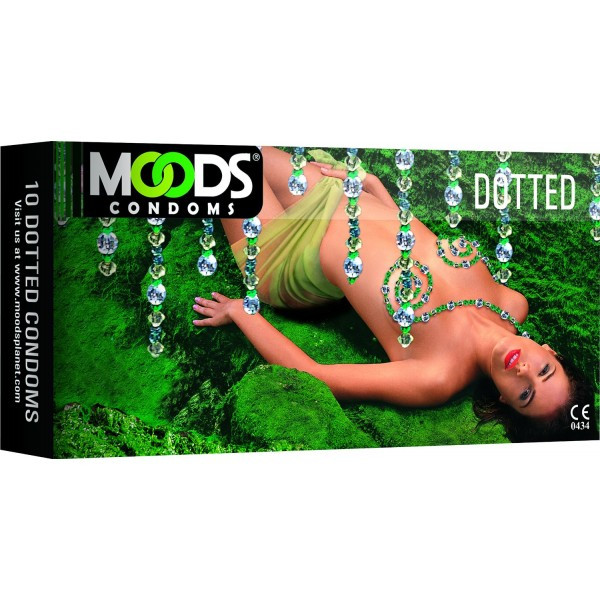 Moods Dotted Condoms 10's