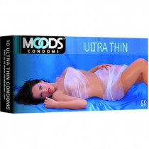 Moods Ultra Thin Condoms (Pack of 2) with  2 condom free