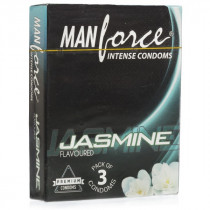 Manforce Jasmine Flavoured Condom 3's