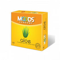 Moods Aloe 3's Condoms With Natural Touch