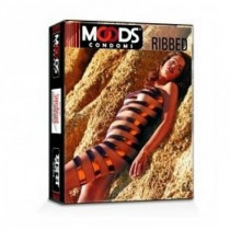 Moods Ribbed Condom 3's (Pack of 5)