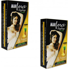 Manforce Staylong Pineapple Condoms 20 pcs