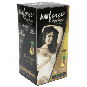 Manforce Staylong Pineapple Condoms 20's