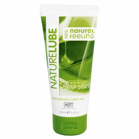 Sexcare HOT Nature Lube waterbased ALOE VERA 30ml